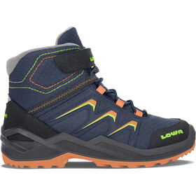 Lowa Maddox Warm GTX Stiefel Kinder navy/orange